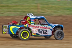 speeding-mini-pickup-darley-moor-uk-april-unnamed-driver-takes-his-autograss-class-around-pennine-circuit-speed-31305518